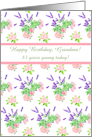 Custom Front Nostalgic Scents of Summer 83rd Birthday Card for Grandma card