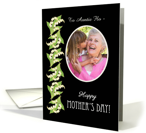 Lilies Mother's Day Photo Card to Personalize card (1276760)