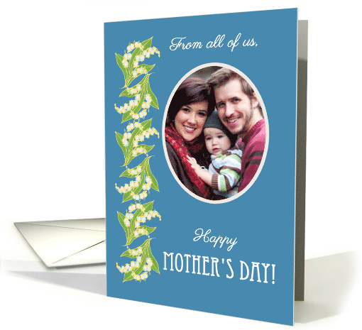 Lilies Mother's Day Photo Card From All of Us card (1276806)