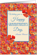Custom Front Iceland Poppies Grandparents Day Card