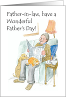 Father's Day Greeting Card for Father-in-law card