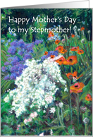 Mother's Day Card for Stepmother - June Garden card