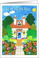 New Home Announcement Card - Danish Greeting card