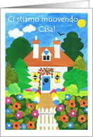New Home Announcement Card - Italian Greeting card