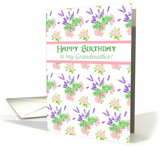 Birthday for Grandmother, Nostalgic Scents of Summer card (947883)
