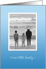 Mother's Day Beach - Mom and Kids by the water card
