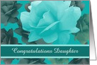 Congratulations Custom Personalized Beautiful Vintage Style Roses card