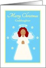 Christmas Customizable Sweet Child Angel with Stars card