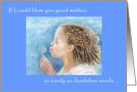 Blowing in the Wind, Get Well, Children's Image card
