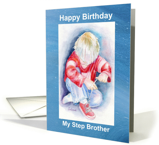 Step Brother's Birthday card (862652)