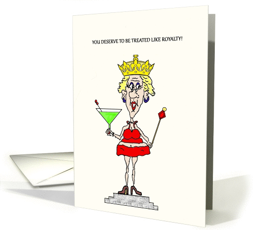ROYALTY HOT MAMA 60TH BIRTHDAY card (1247434)