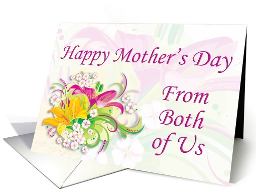 Mother's Day from Both of Us card (749552)