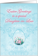 Easter Greetings to a Special Daughter-in-Law card