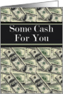 Some Cash for You April Fools' Card