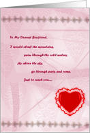 Miss you cards for boyfriend from greeting card universe my dearest boyfriend miss you card m4hsunfo
