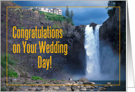 Congratulation on Your Wedding Day Card