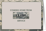Cominghomefromusarmyservice card