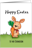Happy Easter Card to my Grandson card