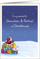To my wonderful Grandson and Partner at Christmas card