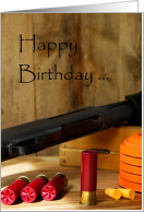 hunting birthday cards from greeting card universe, Birthday card