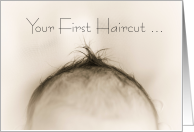 Congratulations, Baby's First Haircut card