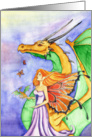 Dragon Fairy Godmother card