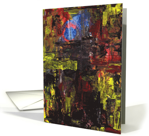 Abstract Birthday card (722924)