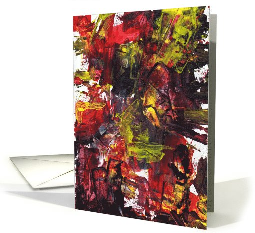 Abstract Birthday card (722926)