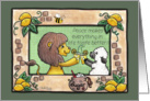 Apology- Blessed is the Peacemaker-Lion and Lamb- Making Lemonade card