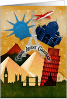 Congratulations to Travel Agent Graduate Landmarks Around the World card