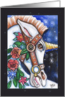 the Decorated Unicorn, any occasion, Blank card