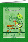 Happy St. Patrick's Day, to Grandma card