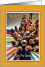 Pencil People, Happy Birthday from the Gang card