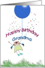 Happy Birthday Grandma, from Granddaughter card
