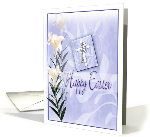 Easter Lily ART, Easter Designs card (772387)