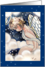 Little Angel on Clouds card