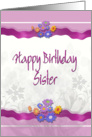 Happy Birthday ART for SISTER card