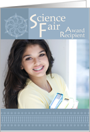 Science Fair Award Recipient - Announcement, Photo Card