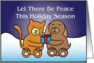 Let There Be Peace Holiday Card
