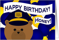 Happy Birthday to Your Favorite Police Officer & Wife card