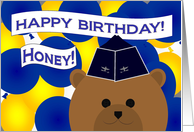 Honey/Wife - Happy Birthday to My Favorite Air Force Officer! card
