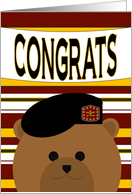 Congrats! Army Officer - Any Award/Recognition card