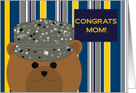 Mom, Congrats! Air Force Member - Any Award/Recognition card