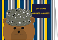 Granddaughter, Congrats! Air Force Member - Any Award/Recognition card