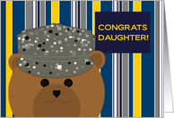 Daughter, Congrats! Air Force Member - Any Award/Recognition card