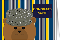 Aunt, Congrats! Air Force Member - Any Award/Recognition card