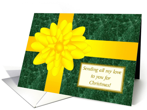 Yellow Ribbon Sending All My Love to You - Christmas... (879757)