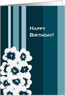 Happy December Birthday! - Narcissus Respect & Faithfulness card