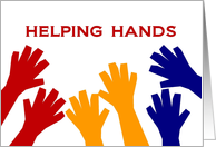 Many Thanks for Your Wonderful Helping Hands in Our Move card