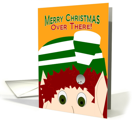 Merry Christmas Over There! - Military Members - Husband Deployed card